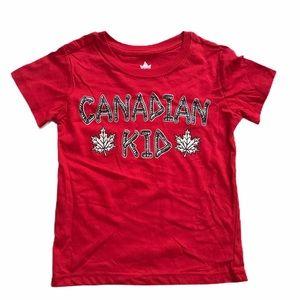🧚♀️4/$25 Canadian Kid T shirt 2/3T